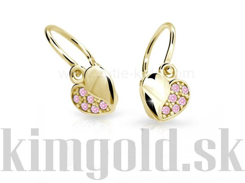 d6ac37703 Cutie jewellery detské naušnice C2160 zo žltého zlata ...