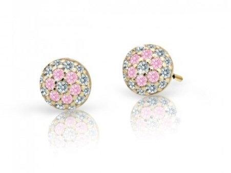 75ca71b0f Cutie jewellery srobovacie nausnice pre deti C2150 zo zlteho zlata ...