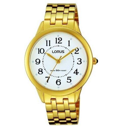 9fd0a6ad8 Dámske elegantné hodinky Lorus so žltým zlátením. lorus-rg212kx9