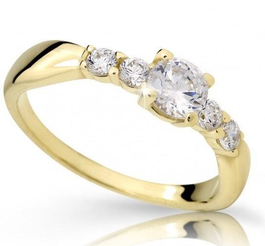 e562d4d2a Zlatý briliantový prsteň DF 2356ž 0,740ct + darčekové balenie zdarma