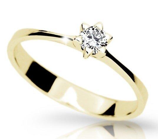 608482813 Diamantový zásnubný prsteň DF 1953 ž 0,180ct + darčekové balenie zdarma
