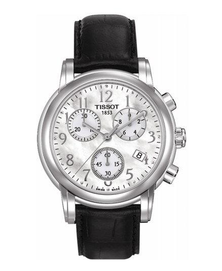 2d05bd8b350 Tissot Dressport T050.217.16.112.00 dámske hodinky s koženým remienkom