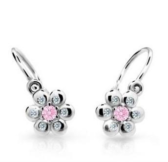 c21112cc4 Cutie jewellery nausnice pre deti C2247 biele zlato   svadobneobrucky.sk