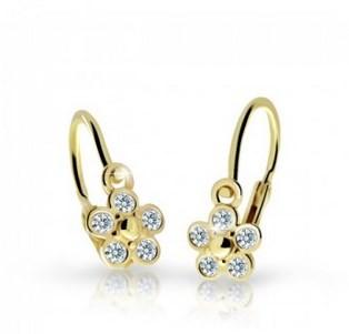 6d14f2097 Cutie jewellery detske nausnice c2244 zo zlteho zlata ...