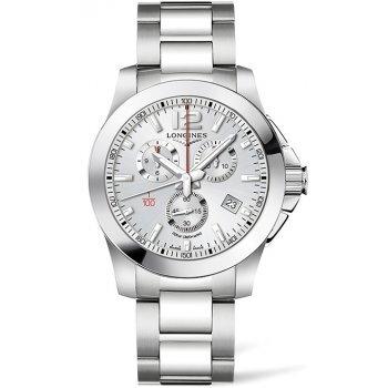 Longines Conquest L3.800.4.76.6 pánske hodinky s oceľovým remienkom ... 1856d81800c