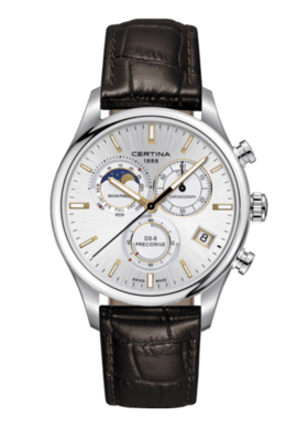 Certina DS-8 Moon Phase C033.450.16.031.00 (C0334501603100) DS 8 GENT CHRONO MOONPHASE + DARČEK ZDARMA