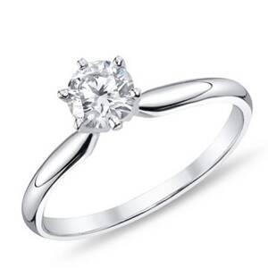 ... bieleho zlata so zirkónom. Zásnubný prsteň R085b 585 1000 + darčekové  balenie zdarma b8e60cefaec