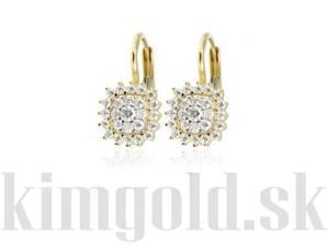 139e88470 damske nausnice zo zlteho zlata, zlate nausnice