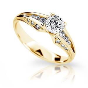 Zásnubný prsteň DF 2103ž + darčekové balenie zdarma c4532abfaa9
