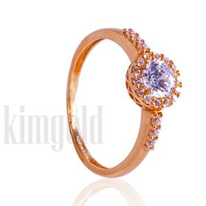 Dámsky snubný prsteň s kameňmi K512 ž + darčekové balenie zdarma 9a38bae7c22