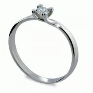 Možnosť vyhotovenia aj s... Zásnubný prsteň DF 1855 b + darčekové balenie  zdarma a2ddef08ed9