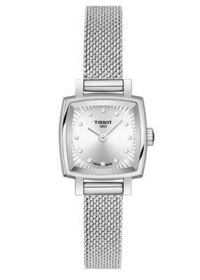 Tissot Lovely Square T058.109.11.036.00 (T0581091103600)  s diamantmi