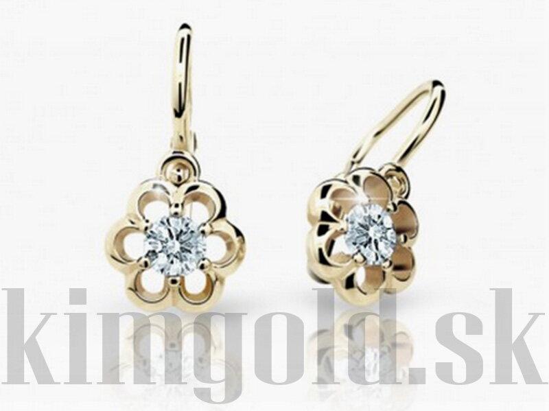 9d22bc538 Cutie jewellery detske nausnice C1947 zo zlteho zlata ...